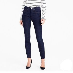 J Crew | High-Rise Toothpick Jean in Classic Rinse